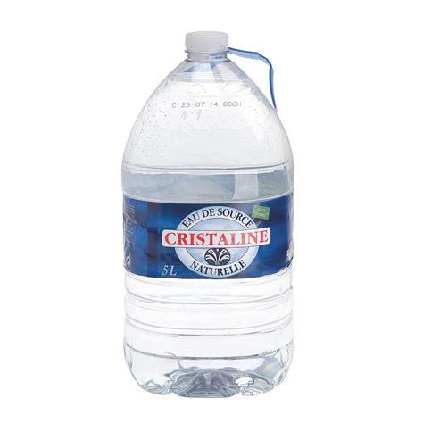 catalogue bruneau bureau eau cristaline bouteille 5 litres eaux plates