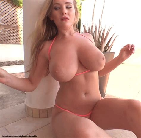 bethany lily blonde babe reveal bare real h size tittes
