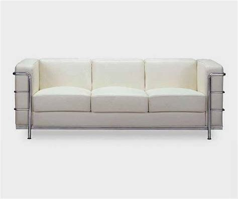 White Contemporary Leather Sofa Vera Leather Sofas