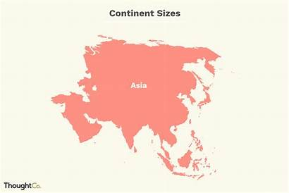 Continents Population Area Comparing Ranked Thoughtco Illustration