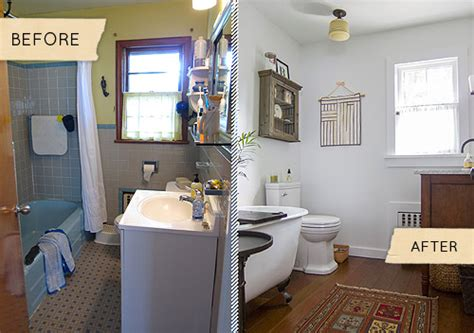 mismatched  bathroom