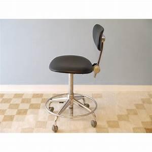 Chaise Bureau Vintage : chaise bureau vintage industrielle roulettes la maison retro ~ Teatrodelosmanantiales.com Idées de Décoration