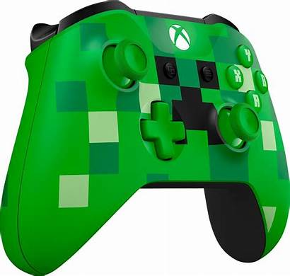 Xbox Controller Wireless Microsoft Clipart Creeper Minecraft