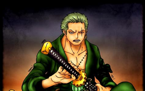 awesome roronoa zoro  piece image hd wallpaper desktop