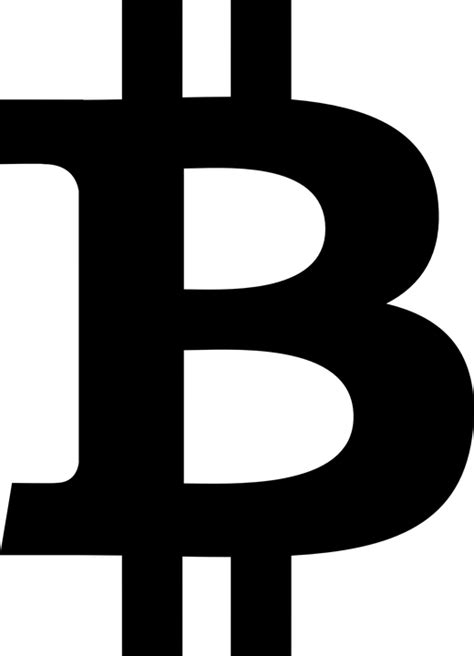 B Bitcoin by Bitcoin Logo Currency 183 Free Vector Graphic On Pixabay