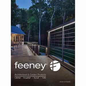 Feeney inc cablerail designrailr rails and railing for Feeney architectural