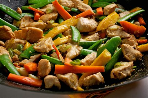 chicken stir fry recipes easy chicken veggie stir fry no time to cook