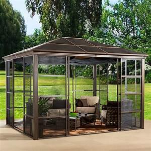 Holz Pavillon 3x3 : pavillon mit festem dach metall pavillon mit festem dach ebenbild das wirklich die besten 17 ~ Whattoseeinmadrid.com Haus und Dekorationen