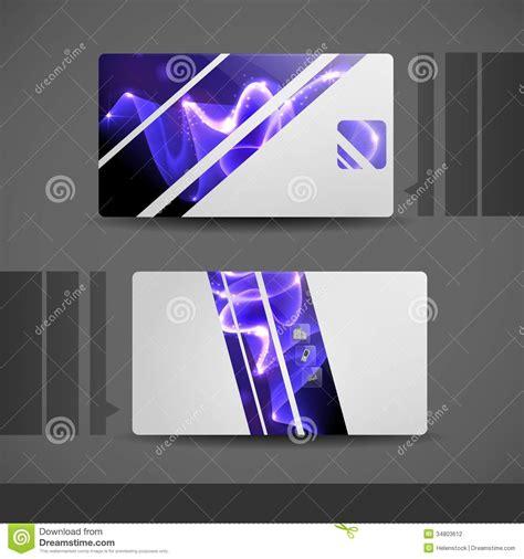 carte de visite professionnelle de visite moderne bleue photographie stock image 34803612
