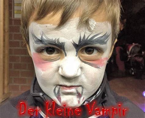 dracula schminken der kleine vir als vir schminken dracula tutorial