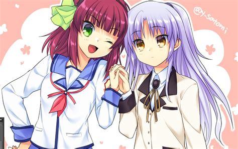 Tenshi And Yuri Angel Beats Drawn By Satomiyoshitaka