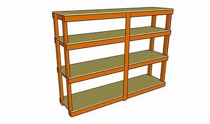 Shelves Garage Plans Shelf Storage Build Plywood