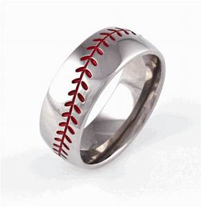 unique men39s wedding bands the yes girls With mens baseball wedding rings