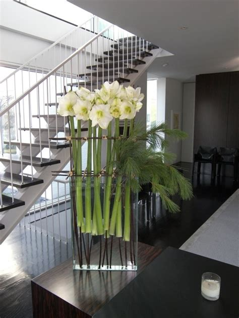 ideas  contemporary flower arrangements