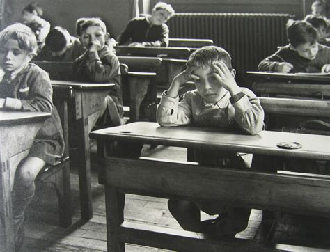 au bureau boulogne l 39 écolier seul 1956