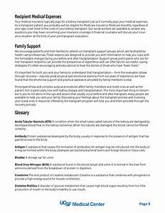 templates for report writing transplant templates for With kidney transplant fundraising letter