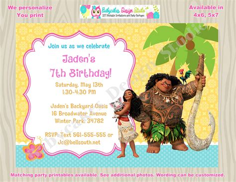 Moana Birthday Invitations Free Coffee Urn Gfs Quotes About In Paris And Snow Jesus We Have