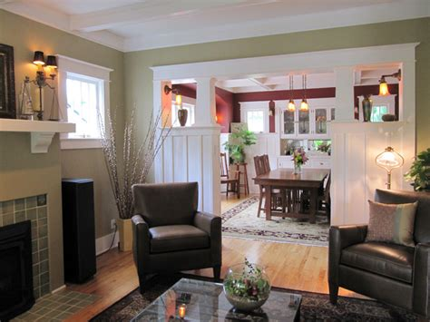 Style Homes Interior by Living Room Craftsman Living Room Seattle By Tim