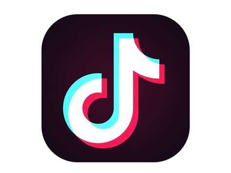 Is TikTok's logo meant to be viewed with 3D glasses? - Quora