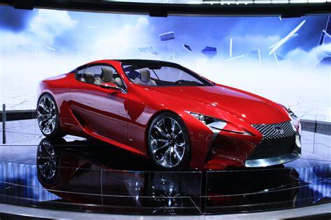 Lexus Lflc Live On Display At The 2012 Detroit Auto Show