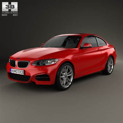 Bmw M2 Coupe (f22) 2014 3d Model For Download In Various