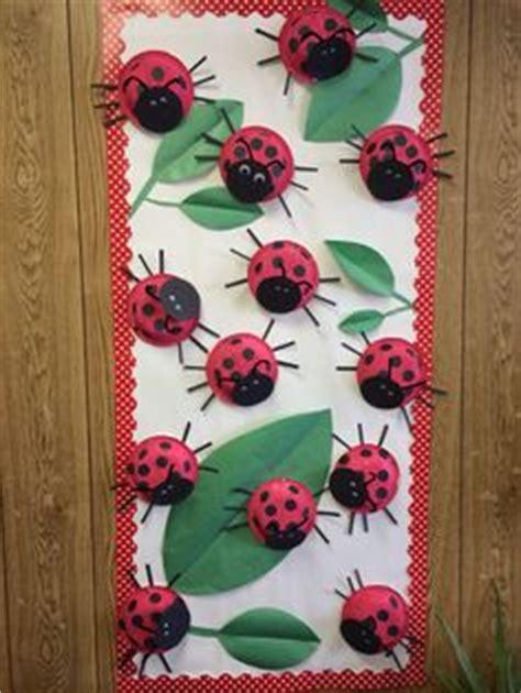 lady bug bulletin board spring cute craft  classroom