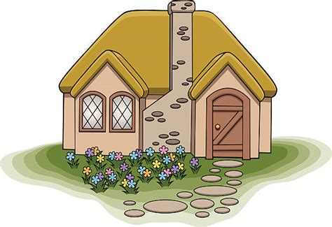 Cottage Clipart Royalty Free Cottage Clip Vector Images