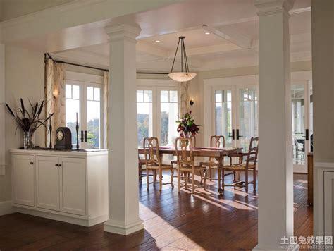 split level home plans 室内柱子装饰 土巴兔装修效果图