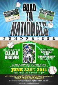 fundraiser flyer by anotherbcreation on deviantart With baseball fundraiser flyer template