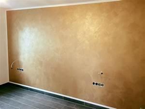 Wand Metallic Effekt : mit mustertapeten effekt lasuren oder spachteltechnik ~ Michelbontemps.com Haus und Dekorationen
