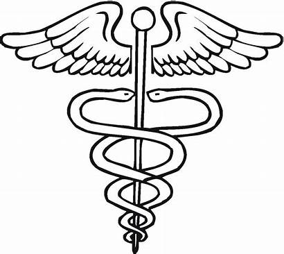 Doctor Medical Coloring Symbol Tools Pages Clipart