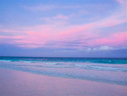 Pink Beach Sand Bahamas Wallpapers Harbour Aesthetic
