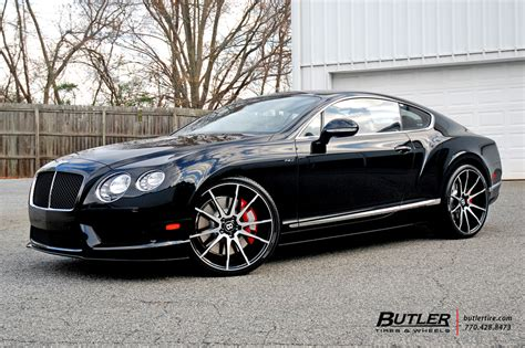 bentley continental gt   savini bm wheels