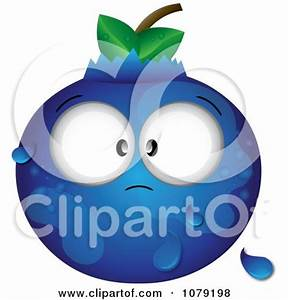 Single clipart blueberry - Pencil and in color single ...