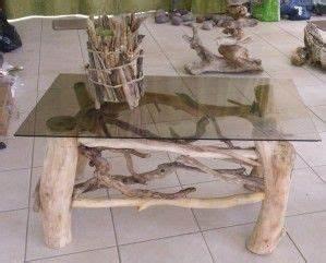 Table Basse En Bois Flotté : 72 best bienvenue chez moi images on pinterest warm wood tables and wooden centerpieces ~ Teatrodelosmanantiales.com Idées de Décoration