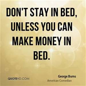 George Burns Money Quotes | QuoteHD