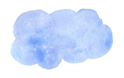 8 Blue Watercolor Clouds (PNG Transparent) | OnlyGFX.com