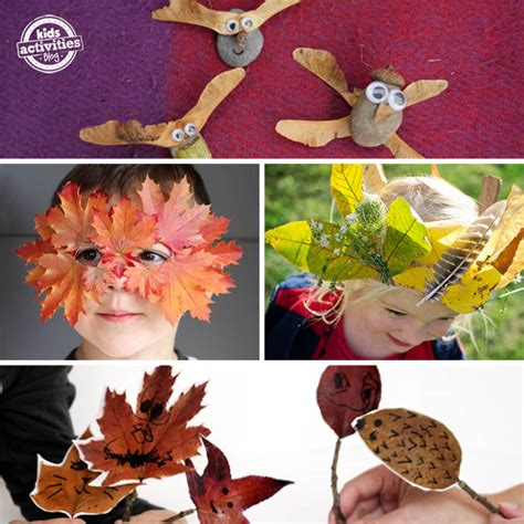 16 fall nature crafts for preschoolers 685 | fall nature craft toys