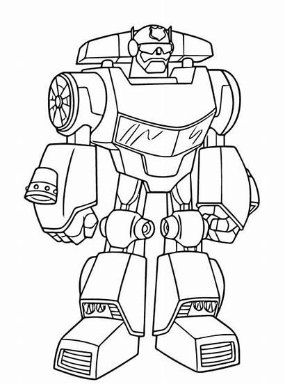 Chase Rescue Transformers Bots Coloring Fun Kleurplaat
