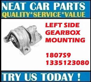 Left Side Gearbox Mount For Peugeot Boxer  230p 244 Z   2 0i 2 2hdi 02  U0026gt  1807s9
