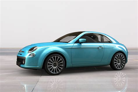 Fiat 500 Coupe by Fiat 500 Spider E Coup 233 Ipotizzate In Alcuni Render