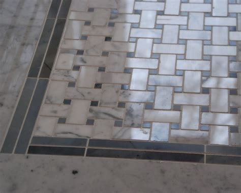 mosaic and basketweave tile the homy design