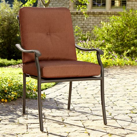 smith clermont single stationary chair rust