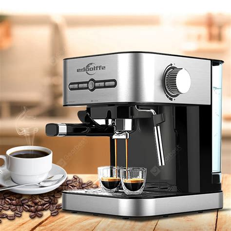 This machine is basically a very reliable fully automatic espresso machine. Edoolffe MD - 2009 Fully Automatic Coffee Machine Sale, Price & Reviews | Gearbest