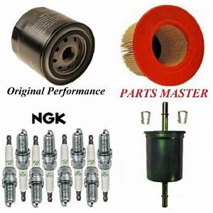 Tune Up Kit Air Oil Fuel Filters Spark Plugs For Ford
