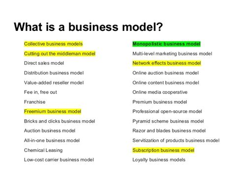what is a business model yi boot camp business models presentation