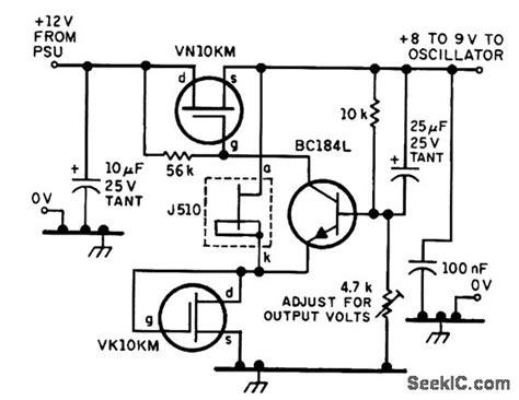 Low Noise Regulator For Oscillator Circuits