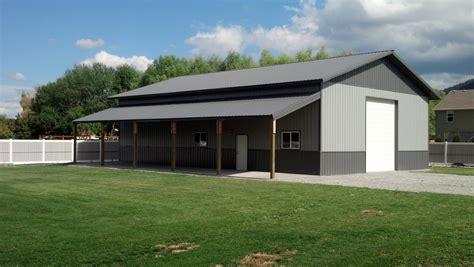 Metal Garage Buildings by Steel Metal Buildings Shops Garages Commercial