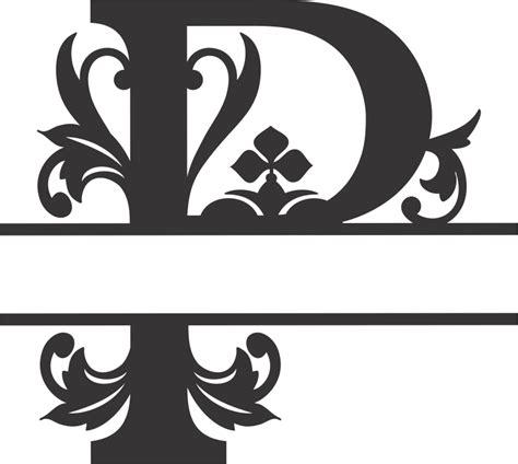regal split font p  dxf file   vector graphic art