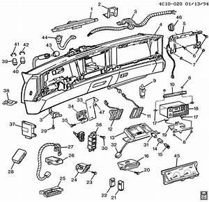 1994 Buick Park Avenue Ultra Instrument Panel Part 2